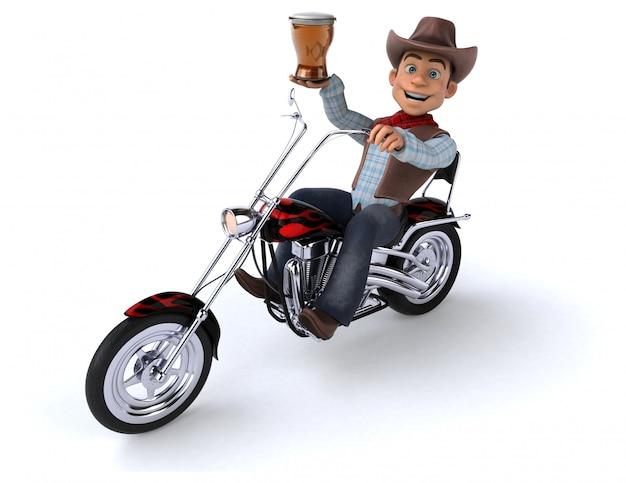 Spaß cowboy animation