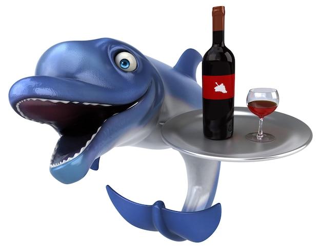 Spaß delphin illustration