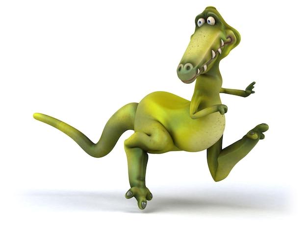 Spaß dinosaurier illustration