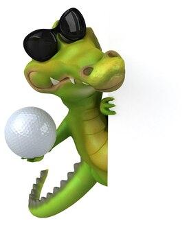 Spaß krokodil