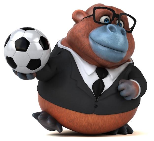 Spaß orang outan animation