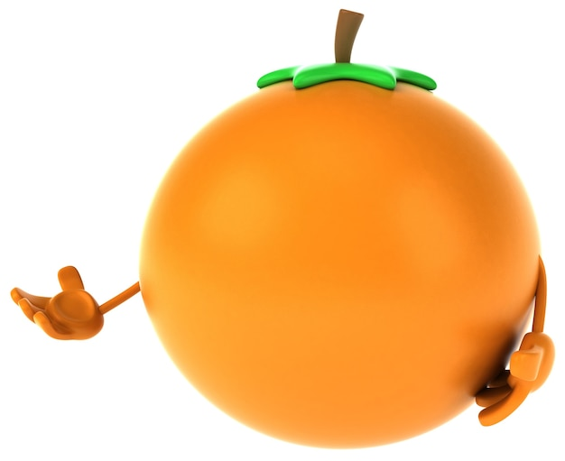 Spaß orange animation