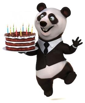 Spaß panda animation