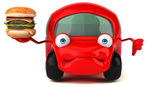 Spaßauto-illustration