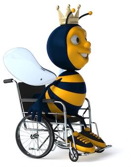 Spaßbiene - 3d-illustration