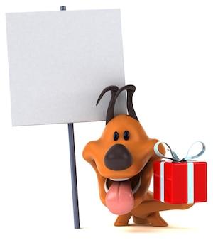Spaßhundeillustration