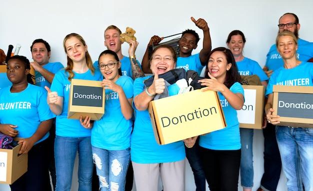 Spendengemeinschaftsdienst freiwilliger support