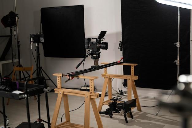 Spezielle ausrüstung für filmregie