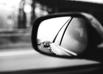 Spiegel-Auto-Automobilanzeige-Fahrzeug