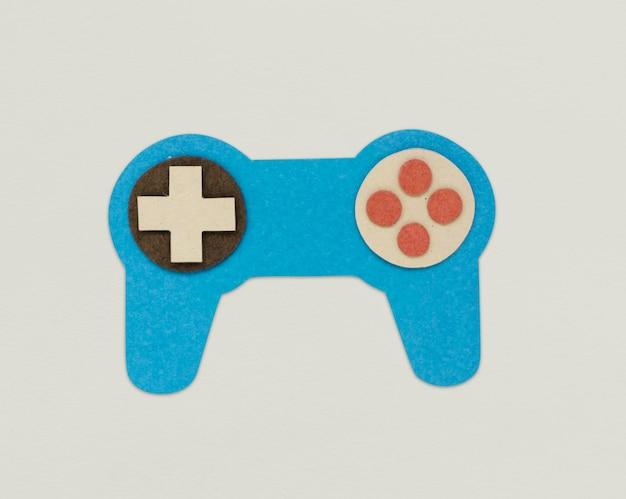 Spiel cotrolller joystick icon zeichen