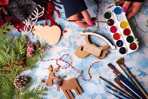 Spielzeug für weihnachtsschmuck herstellen