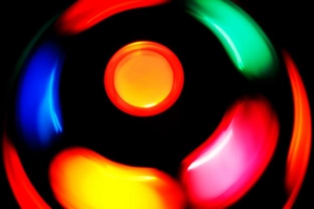 Spinning disco-lampe