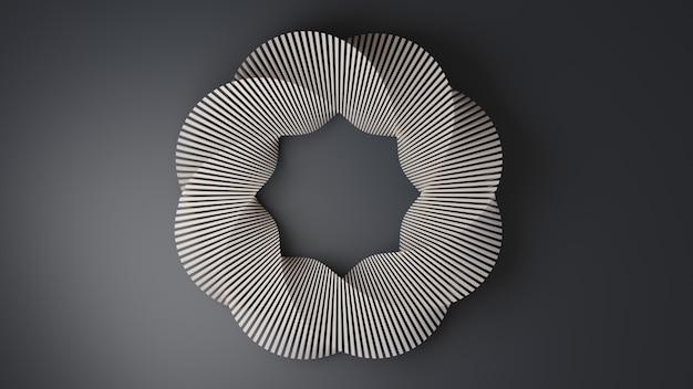 Spiralkreisrahmenhintergrund