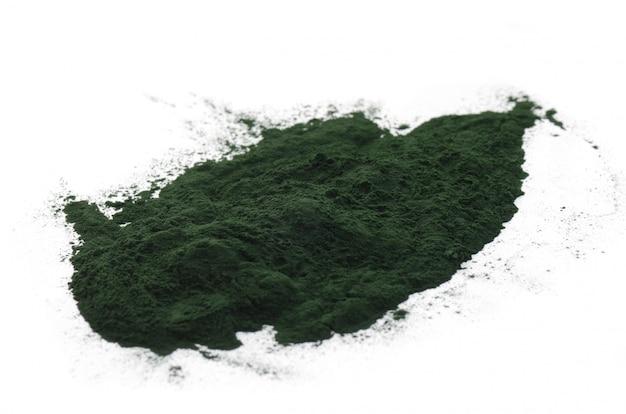 Spirulina-pulver