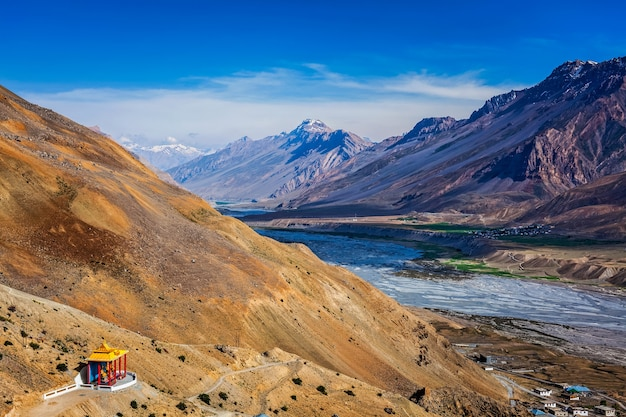 Spiti-tal im himalaya himachal pradesh indienh