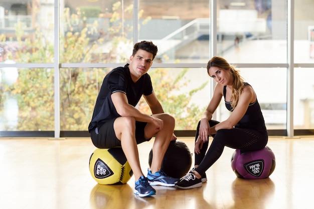 Sport aktiven lebensstil muskel fitness