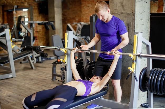Sport, fitness, bodybuilding und menschen