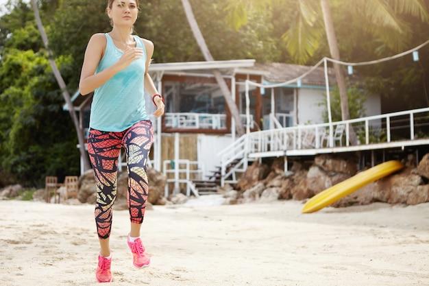 Sport, gesunder lebensstil und leistung.