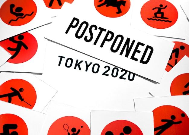 Sportereignis 2020 vereinbarung verschoben