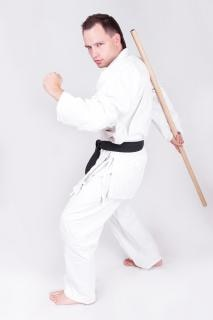 Sportler, karate, kung-fu