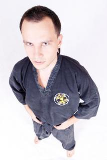 Sportler, martialisch