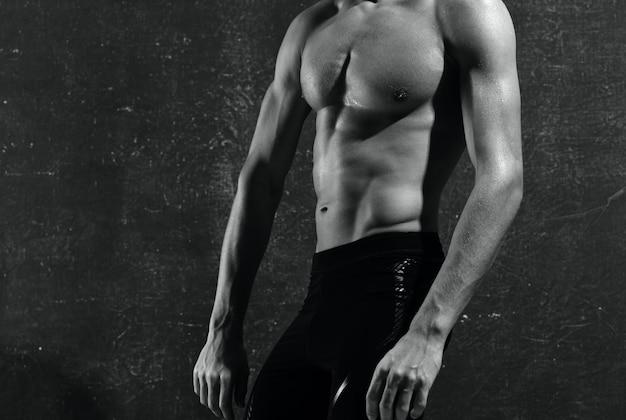 Sportler trainieren muskelfitness