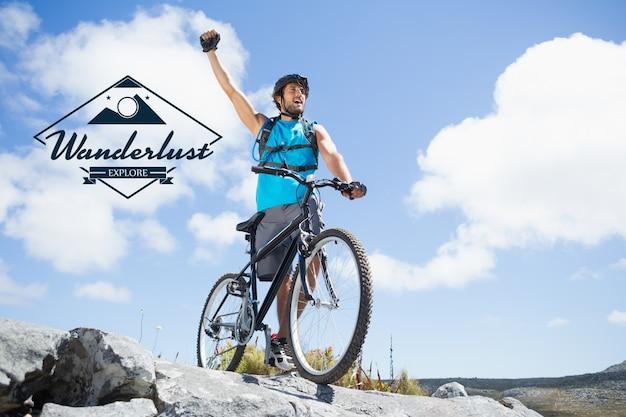 Sportlich erholung reise sonnenschein reiten