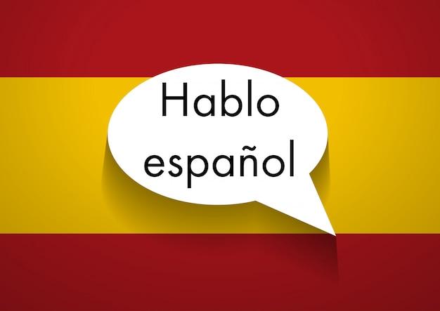 Sprechen spanisch zu unterzeichnen