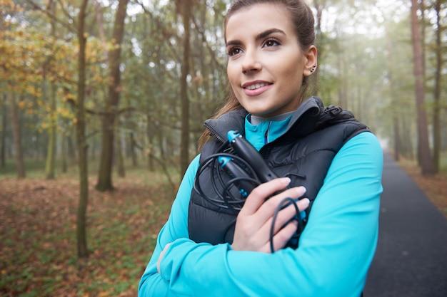 Springseil kann helfen, fit zu bleiben