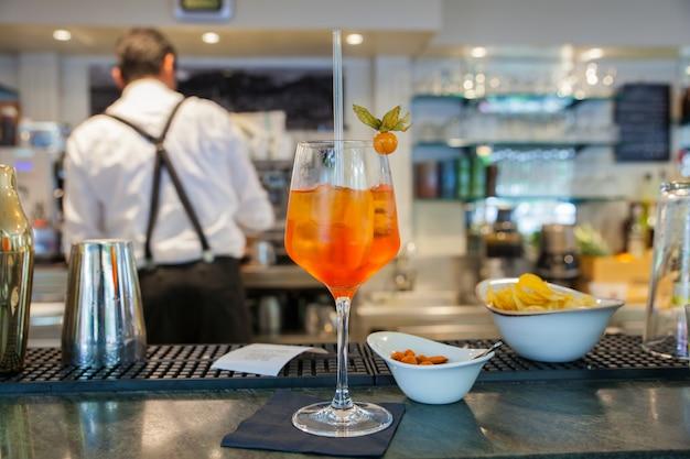 Spritz berühmtes italienisches getränk