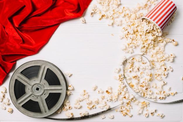 Spule und popcorn