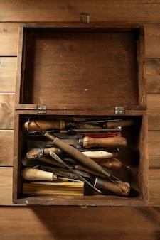 Srtist handwerkzeuge für handwerkliche arbeiten