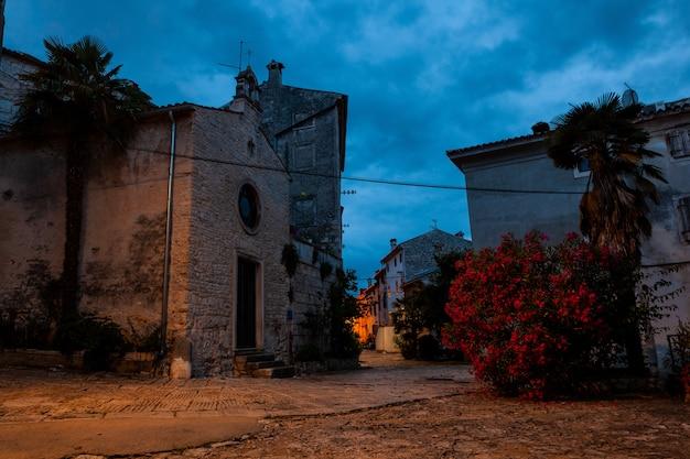 St. helena kirche in bale, villa, istrien. kroatien