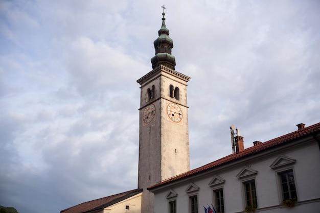 St mary. der mariä himmelfahrt kirche, kobarid