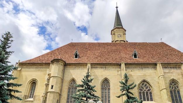 St. michael-kirche in cluj-napoca, rumänien