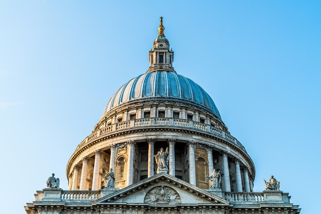 St. pauls kathedrale kirche in london.