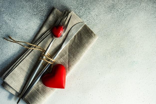 St. valentinstag karte konzept hintergrund