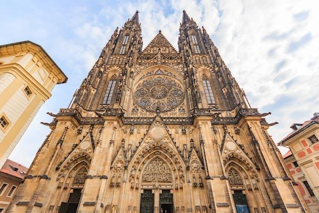 St. vitus cathedral in prag, tschechische republik.