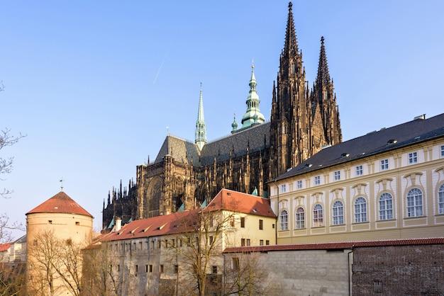 St. vitus cathedral in prag