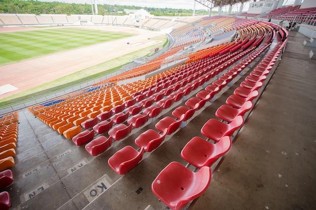 Stadion und sitzplatz