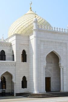 Stadt bolgar, tatarstan, russland: weiße moschee