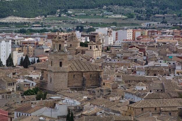 Stadt caravaca de la cruz, murcia, spanien.