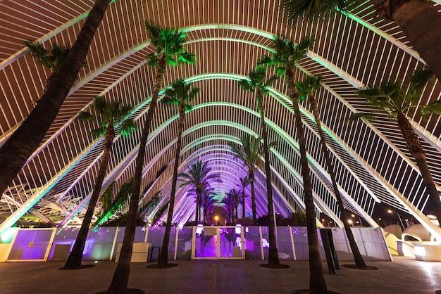 Stadt der künste und wissenschaften in valencia