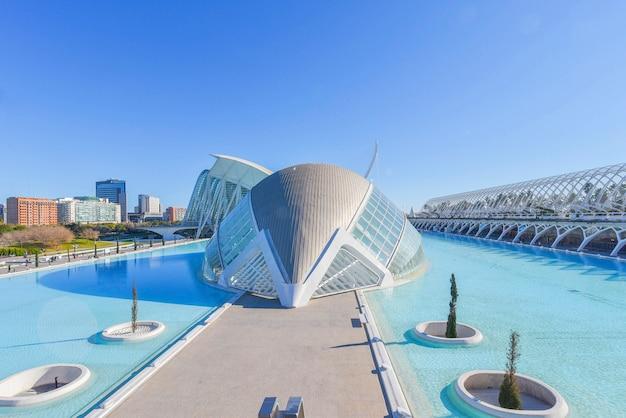 Stadt der künste und wissenschaften, valencia, spanien.