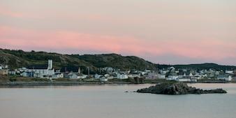 Stadt entlang der Küste, Twillingate, South Twillingate Island, Neufundland und Labrador, Kanada