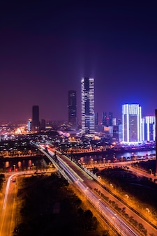 Stadt in der nacht