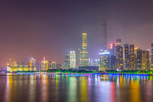 Stadt nacht landschaftsarchitektur