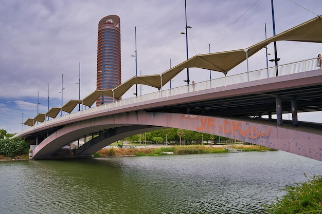 Stadt sevilla. spanien
