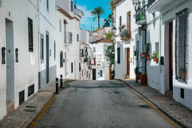 Stadt von altea, spanien