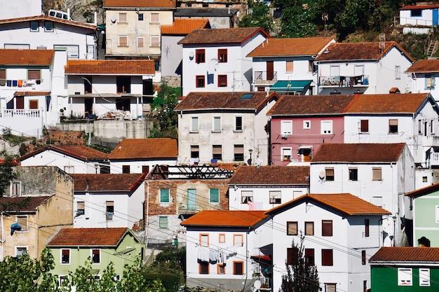 Stadtansicht von bilbao spanien, bilbao architektur